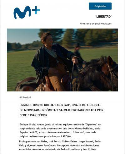 "Imagen de Xabier Deive en ""Libertad"" Movistar+"